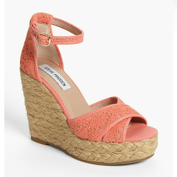 e600838146d Steve madden coral marrvil crochet wedge